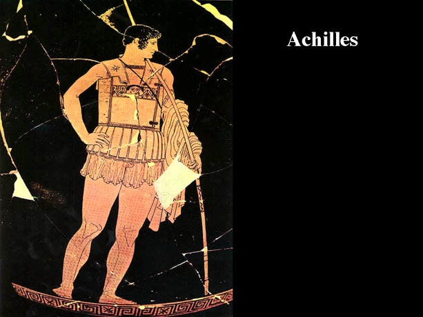 the breaking of achilles in the iliad by homer Class warfare: thersites in the iliad by breaking rank if homer can endorse a man like achilles, who watches.